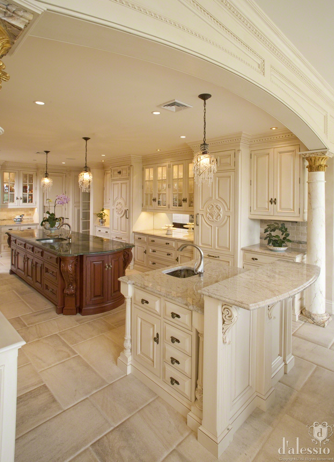 Showcase european inspired kitchen for European kitchen designs