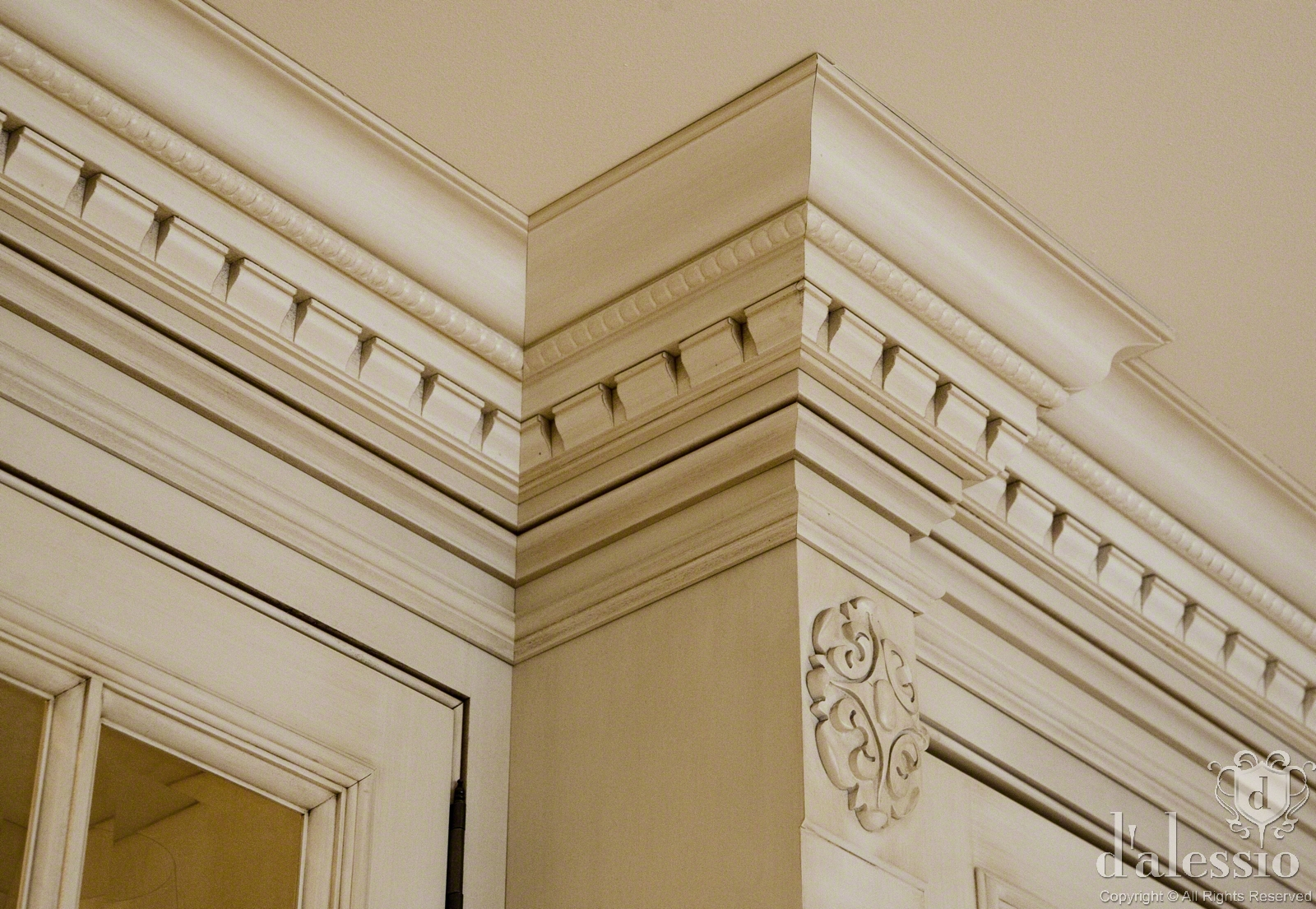 Architectural Molding And Millwork : Showcase european inspired kitchen