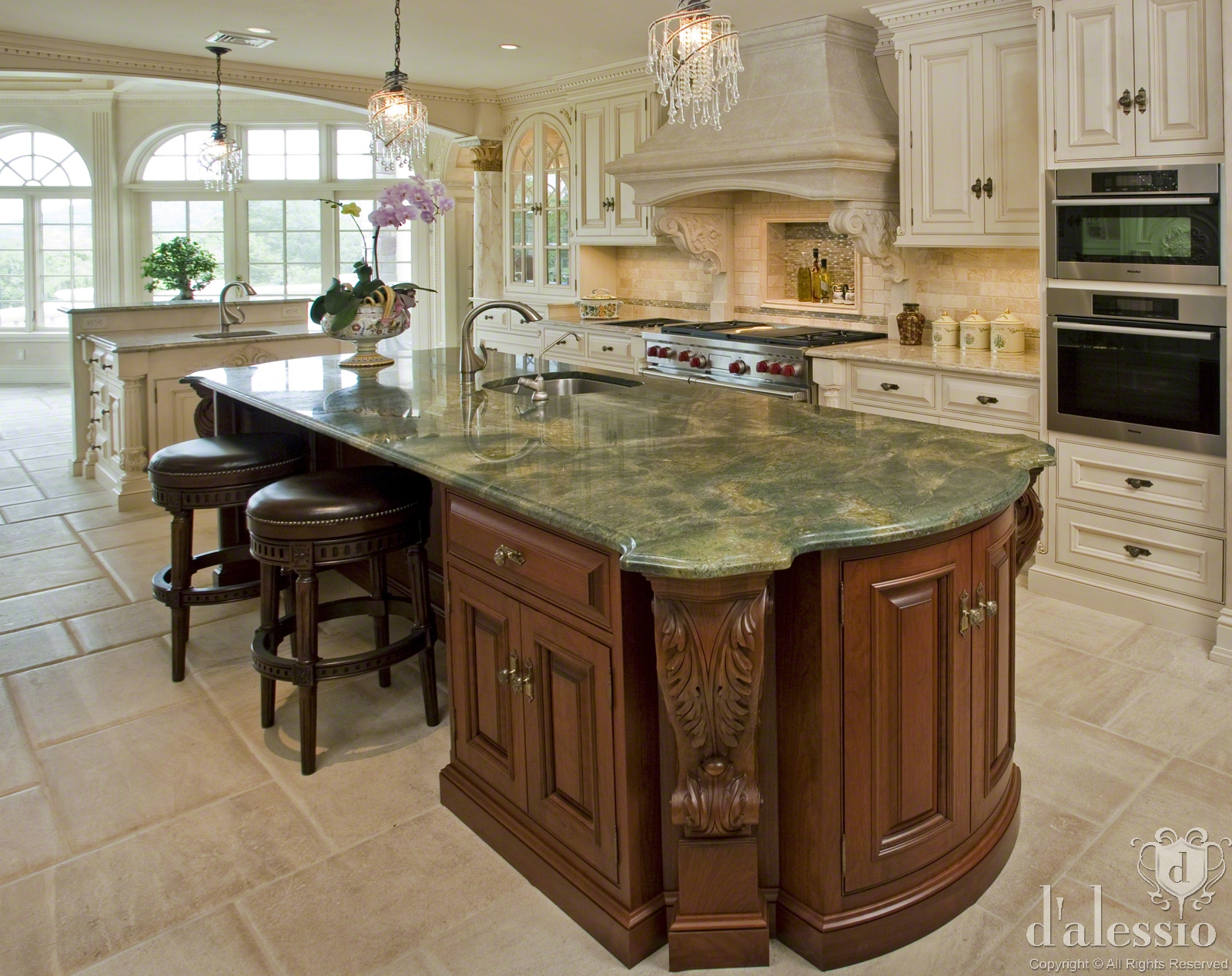 Showcase European Inspired Kitchen