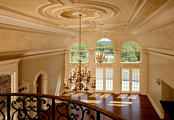Louis xiv mansion a bucolic country estate becomes a for Mansion floor plans with ballroom