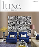 Luxe Magazine Cover Fall 2013