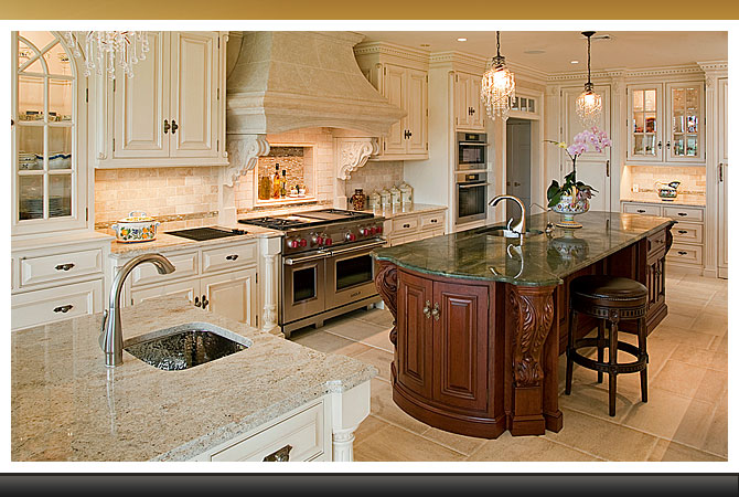European Inspired Kitchen